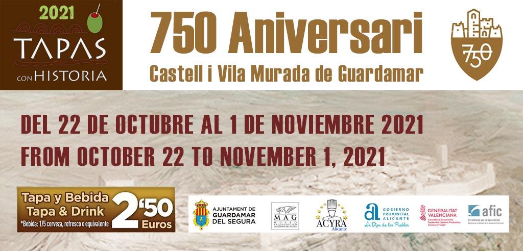Guardamar Historical Tapas Route 2021